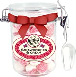 Strawberries & Cream Sweet Jar