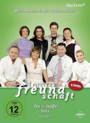In aller Freundschaft - Die 11. Staffel, Teil 1, 24 Folgen [6 DVDs]