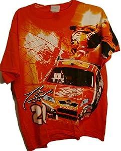 Tony Stewart Home Depot Vintage T-shirt Medium by Motorsport Authentics