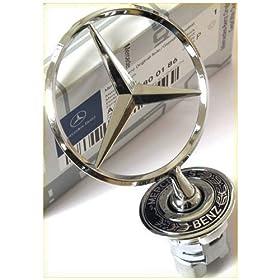 OEM Mercedes Benz Star Hood Ornament 210 880 01 86 New E320 E420 E55 S500 S430