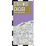 Streetwise Chicago Map - Laminated City Center Street Map of Chicago, Illinois - Folding pocket size travel map with CTA, Metra map  (Streetwise Maps)