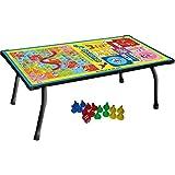 Varshine Tuk Tuk Toys Multipurpose Ludo Table Board , Bed Study Table & Laptop Support Table Z-30