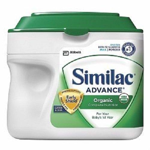 Similac Advance Organic Complete Nutrition Powder 23.2 oz (Quantity of 2)