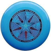 Discraft Ultrastar disco volador 175g, color azul brillo
