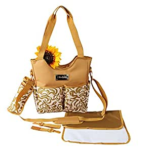 buy reebaby diaper bag beige online at low prices in india. Black Bedroom Furniture Sets. Home Design Ideas