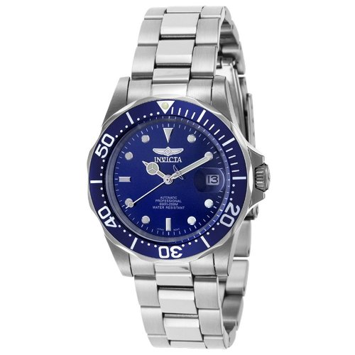 Invicta Men's Men Automatic Pro Diver S2 9094 Stainless-Steel Automatic Watch with Blue Dial