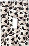 Art Plates - Soccer Balls Switch Plate - Single Toggle
