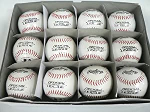 Buy One Dozen(12) Rawlings Official League Baseball ROLB3 BRAND New