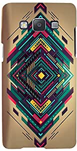 PRINTVISA Pattern Abstract Modern Case Cover for Samsung Galaxy A3 (Multicolour)