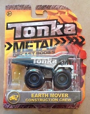 Tonka Metal Diecast Bodies Construction Crew - Earth Mover - 1