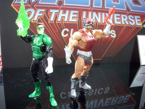 Picture of Mattel DC Universe & Masters of the Universe Classics Exclusive Action Figure 2Pack Green Lantern VS Zodac (B005FTWBX0) (Green Lantern Action Figures)
