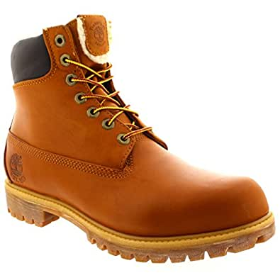 Mens Timberland 6 Inch Fleece Waterproof Winter Shoes Snow