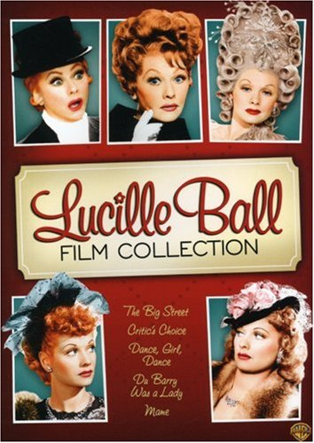 Cover art for  Lucille Ball Film Collection (Dance Girl Dance / The Big Street / Du Barry Was a Lady / Critic's Choice / Mame)