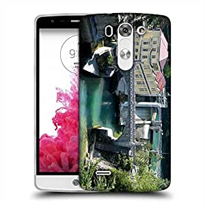 Snoogg Lake View Houses Designer Protective Phone Back Case Cover For LG G3 BEAT