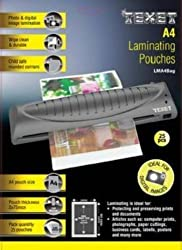 Texet Waterproof Glossy Finish Laminating Pouch Film A4 size | Pack of 25
