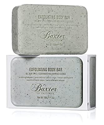 Baxter of California Men's Exfoliating Body Bar, 7 oz