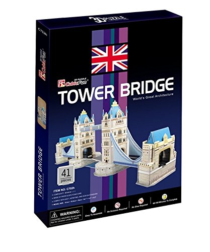 CubicFun C702H Tower Bridge Puzzle - 1