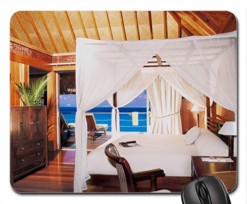 luxury-suite-in-water-villa-sheraton-bora-bora-mouse-pad-mousepad-beaches-mouse-pad