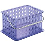 InterDesign Basket, Small, Violet