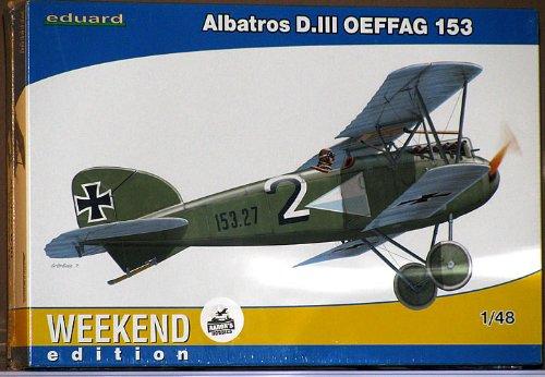 Eduard EDK84150 Albatross DIII Oeffag 153 1:48 Plastic Kit Maquette