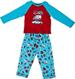 Mini ZZZ Unisex Baby Emergency Knit Top/ Flannel Pant Pyjamas Aqua 18 - 24 Months