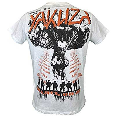 Yakuza T-Shirt Herren Round Neck TSB 603 Enough For A Lifetime weiss