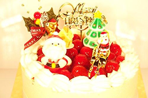 糖質制限木苺レアチーズのクリスマスケーキ