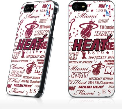 NBA - Miami Heat - Miami Heat Historic Blast - iPhone 5 & 5s - LeNu Case (Miami Heat Iphone 5s Case compare prices)