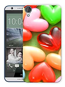 """Humor Gang Heart Toffees Printed Designer Mobile Back Cover For """"HTC DESIRE 820"""" (3D, Matte, Premium Quality Snap On Case)"""