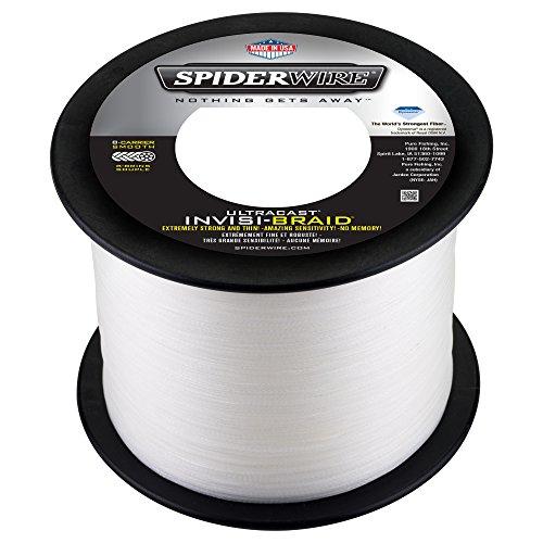 Spiderwire Ultracast Invisi-Braid 1500-Yard Spool, Pound/Diameter 80/15