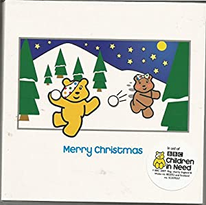 Children in Need Pudsey Bear Christmas Cards