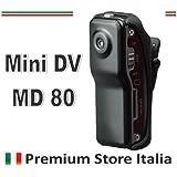 SPORT MINI DV 80 DVR TELECAMERA di Premium Store Italia