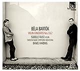 ベーラ・バルトーク : ヴァイオリン協奏曲 第1番 & 第2番 (Bela Bartok : Violin Concertos Nos.1 & 2 / Isabelle Faust (violin)   Daniel Harding   Swedish Radio Symphony Orchestra) [SACDシングルレイヤー] [日本語帯・解説付] [Limited Edition]