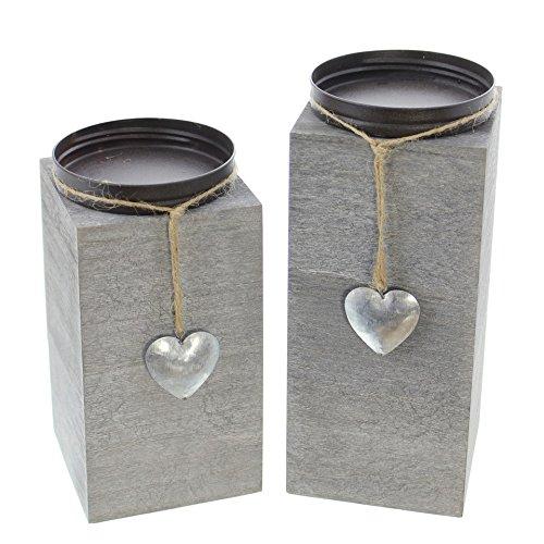 Kerzenhalter-Little-Heart-2er-Set