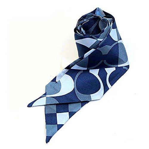 (コーチ)COACH スカーフ ポニーテールスカーフ [ブランド][アウトレット品]f83971den [並行輸入品]