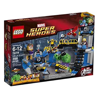 LEGO Superheroes 76018 Hulk Lab Smash by LEGO Superheroes