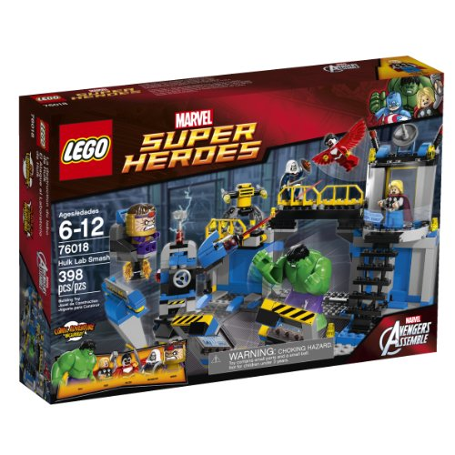LEGO Superheroes 76018 Hulk Lab Smash (Lego Marvel Toys Avengers compare prices)