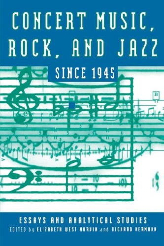 Concert Music, Rock, and Jazz Since 1945 (Eastman Studies in Music)