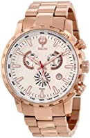 Brillier Men's 16-06 Endurer Rose Gold Chronograph Swiss Quartz Watch from Brillier