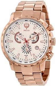 Brillier Men's 16-06 Endurer Rose Gold Chronograph Swiss Quartz Watch