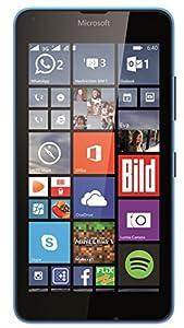 Microsoft Lumia 640 Dual-SIM Smartphone (5 Zoll (12,7 cm) Touch-Display, 8 GB Speicher, Windows 8.1) blau