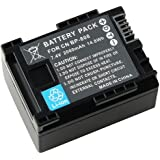 eForCity (2 Pack) Compatible BP-808 Decoded Li-ion Battery for Canon VIXIA HG 20 / HG 21
