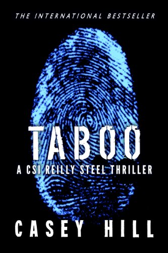 TABOO - CSI Reilly Steel #1 (Police Procedural Forensic Thriller Series) | freekindlefinds.blogspot.com