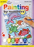 Royal Brush My First Paint by Number Kit, 8.75 by 11.375-Inch, Sea Animals