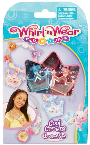 Whirl 'n Wear Cool Crowns Locket Set - 1
