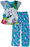 Komar Kids Girls 7-16 Bella And Baby 2 Piece Pajamas