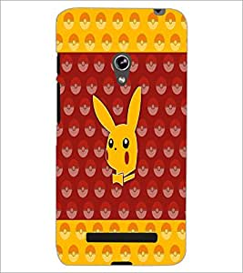 PrintDhaba Pattern D-5571 Back Case Cover for ASUS ZENFONE 5 A501CG (Multi-Coloured)