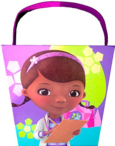 Disney Doc Mc Stuffins Easter Paperboard Bucket Egg Hunting Easter Activities, Easter Fun - 1