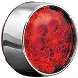 Kuryakyn 5446 Rear Turn Signal LED Light with Red Lens