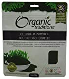 Organic Traditions Organic Powder, Chlorella, 5.3 Ounce